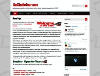 thestudiotour.com screenshot
