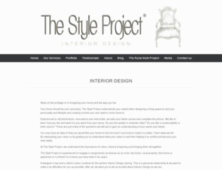 thestyleproject.com.au screenshot
