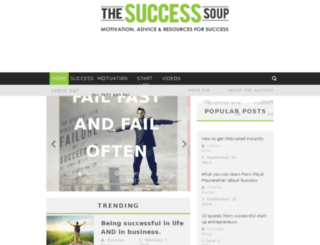 thesuccesssoup.com screenshot