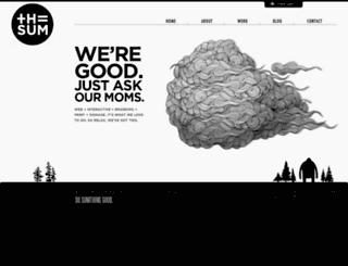 thesum.ca screenshot