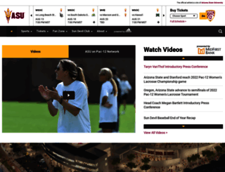 thesundevils.com screenshot