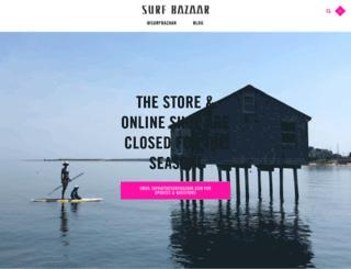 thesurfbazaar.com screenshot
