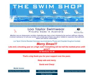 theswimshop.com.au screenshot
