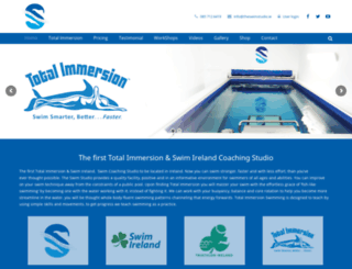 theswimstudio.ie screenshot
