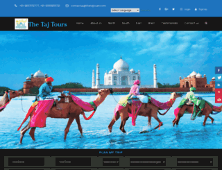 thetajtours.com screenshot