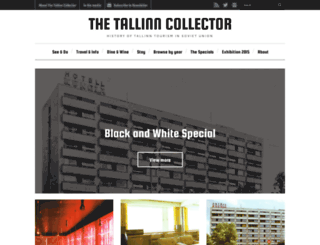 thetallinncollector.com screenshot
