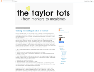 thetaylor-tots.blogspot.com screenshot