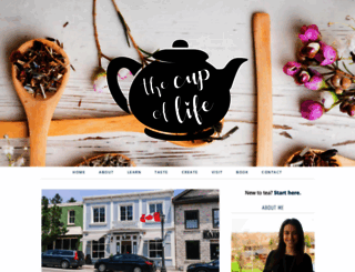 theteacupoflife.com screenshot
