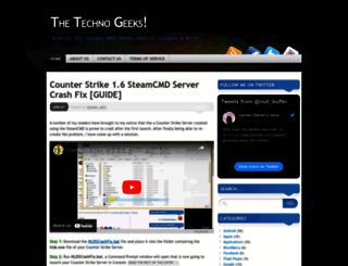 thetechnogeeks.wordpress.com screenshot