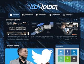 thetechreader.com screenshot