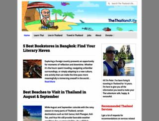 thethailandlife.com screenshot