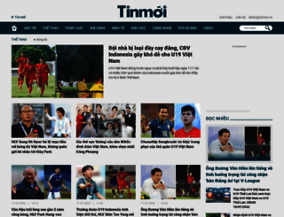 thethao.tinmoi.vn screenshot