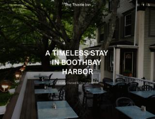 thethistleinn.com screenshot