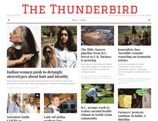 thethunderbird.ca screenshot