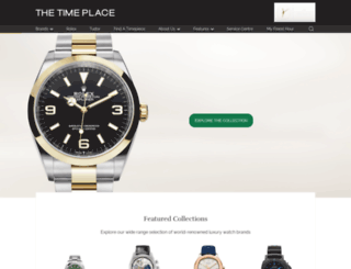 thetimeplace.co.id screenshot