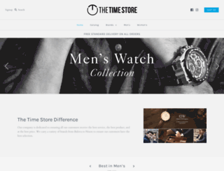 thetimestore.com screenshot