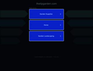 thetipgarden.com screenshot