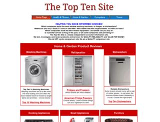 thetoptensite.com screenshot