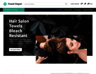 thetoweldepot.com screenshot