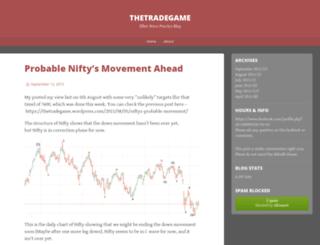 thetradegame.wordpress.com screenshot