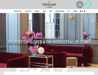 thetrafalgar.com screenshot