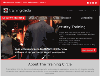 thetrainingcircle.co.uk screenshot