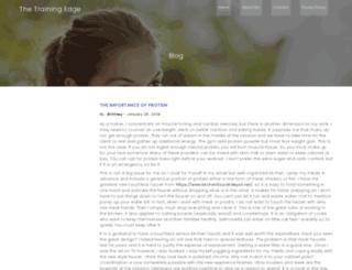 thetrainingedgemagazine.com screenshot