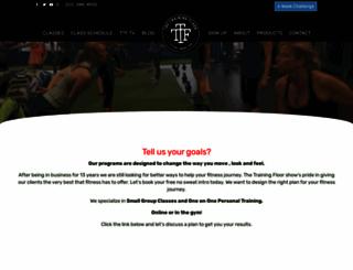thetrainingfloor.org screenshot