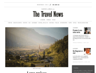thetravelnews.it screenshot