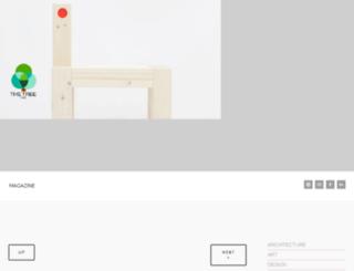 thetreemag.squarespace.com screenshot