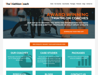 thetriathloncoach.com screenshot