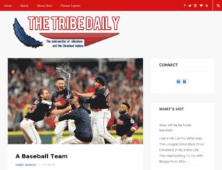 thetribedaily.com screenshot