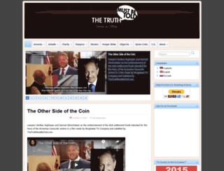thetruthmustbetold.com screenshot