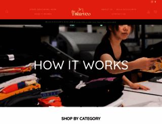 thetshirtco.com.au screenshot