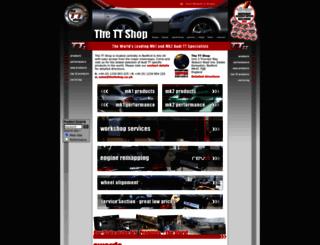thettshop.co.uk screenshot