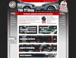thettshop.com screenshot