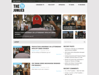 thetvjunkies.com screenshot