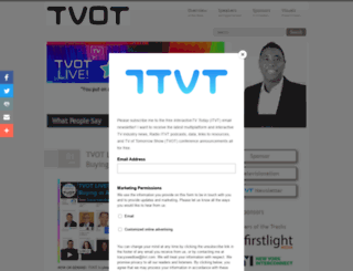 thetvoftomorrowshow.com screenshot