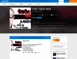 thetwixmix.podomatic.com screenshot