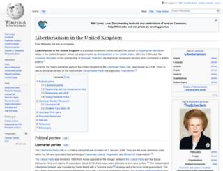 theuklibertarian.com screenshot
