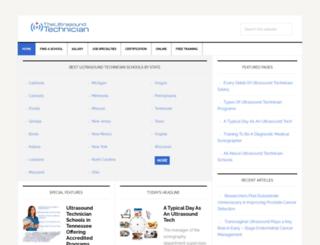 theultrasoundtechnician.org screenshot
