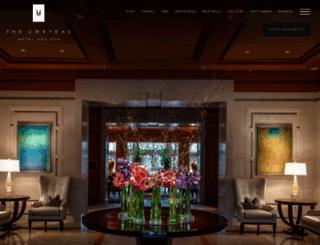 theumstead.com screenshot