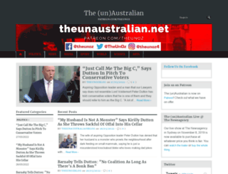 theunaustralian.net screenshot