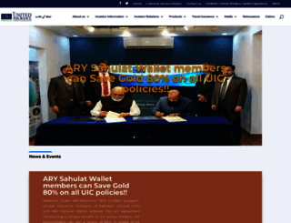 theunitedinsurance.com screenshot