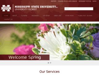 theuniversityflorist.com screenshot
