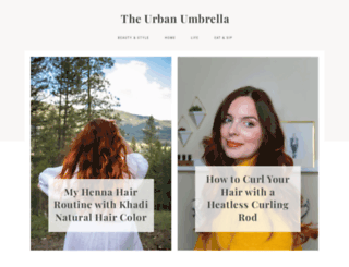 theurbanumbrella.com screenshot