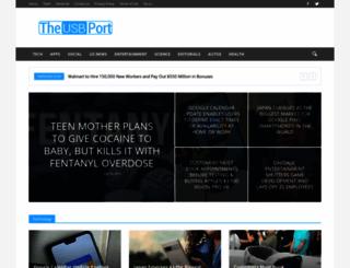 theusbport.com screenshot