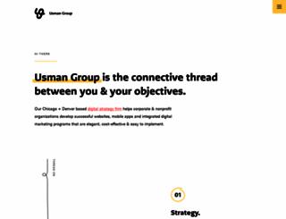 theusmangroup.com screenshot