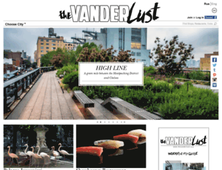 thevanderlust.com screenshot