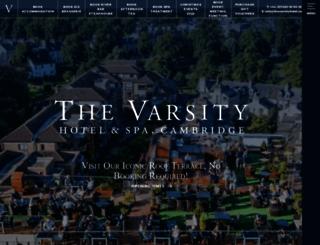 thevarsityhotel.co.uk screenshot